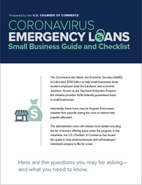 Coronavirus Emergency Loans - Small Business Guide Checklist